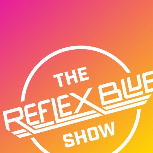 cover image of the reflex blue show a graphic design podcast