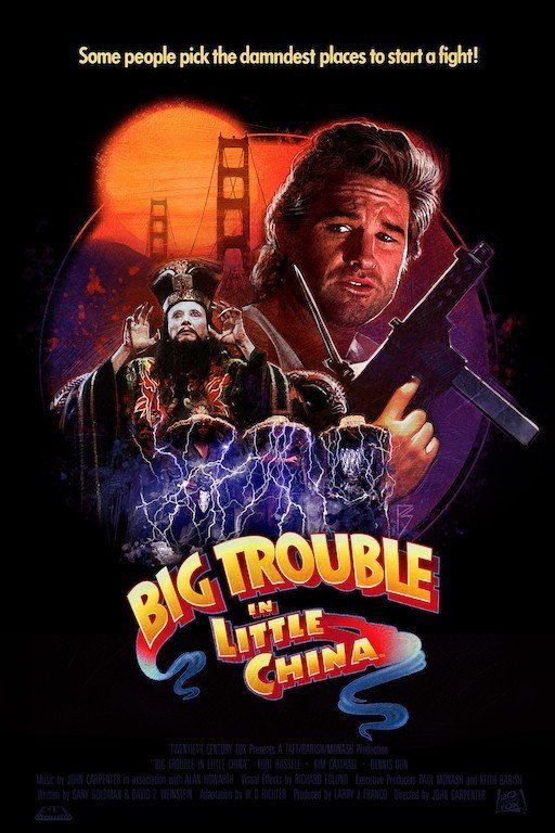 big trouble in little china by paul shipper cinema posters film posters cinema tv