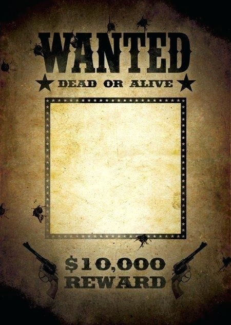 download free and old west wanted poster templates for word power point more many most available