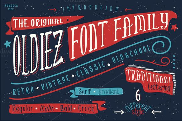 oldiez font family a trademark of inumocca type 2015
