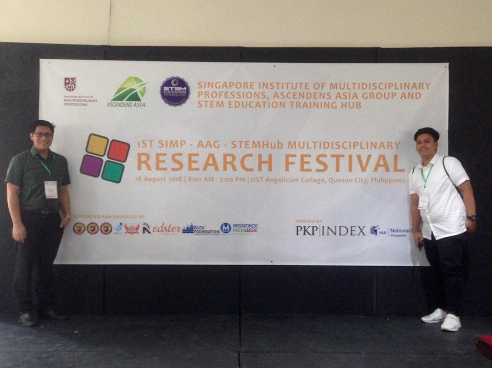 on august 18 2018 vincent v morales an alumnus of the lyceum of the philippines university manila senior high school department presented his group s