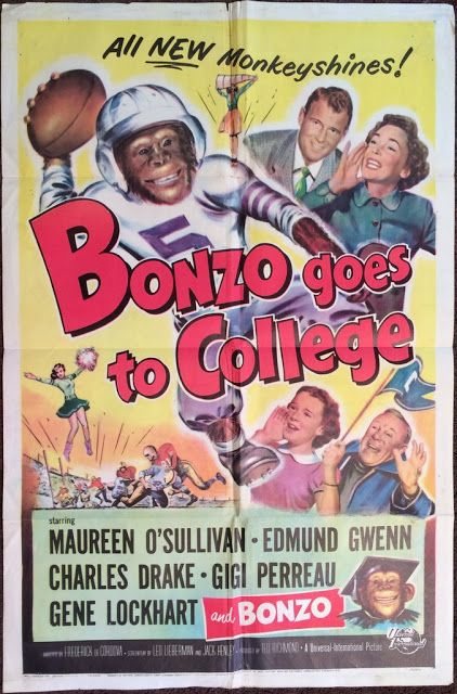 this is the sequel to the ronald reagan pre presidential years obviously flick bedtime for bonzo id love to have that poster as well