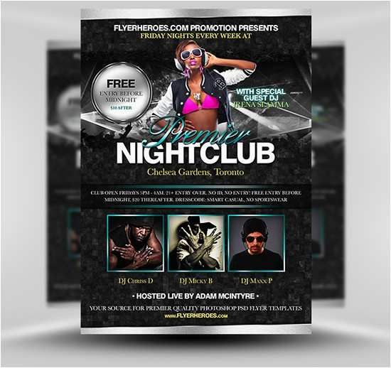 Poster Maker Free Menarik Nightclub Flyers Templates Free Nightclub Flyer Maker Inspirational