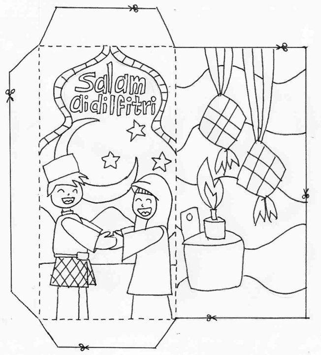 gambar mewarna hari raya berguna gambar kad hari raya hitam putih brad erva doce info