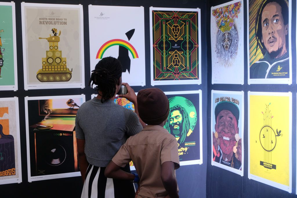 the 24th art of reggae exhibition held in montego bay jamaica
