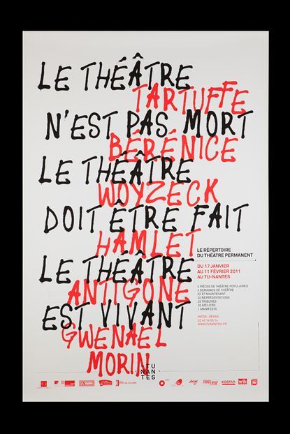 Poster Pas Hebat Unknown Good Use Of Black and Red Hand Rendered Type I Could Use A