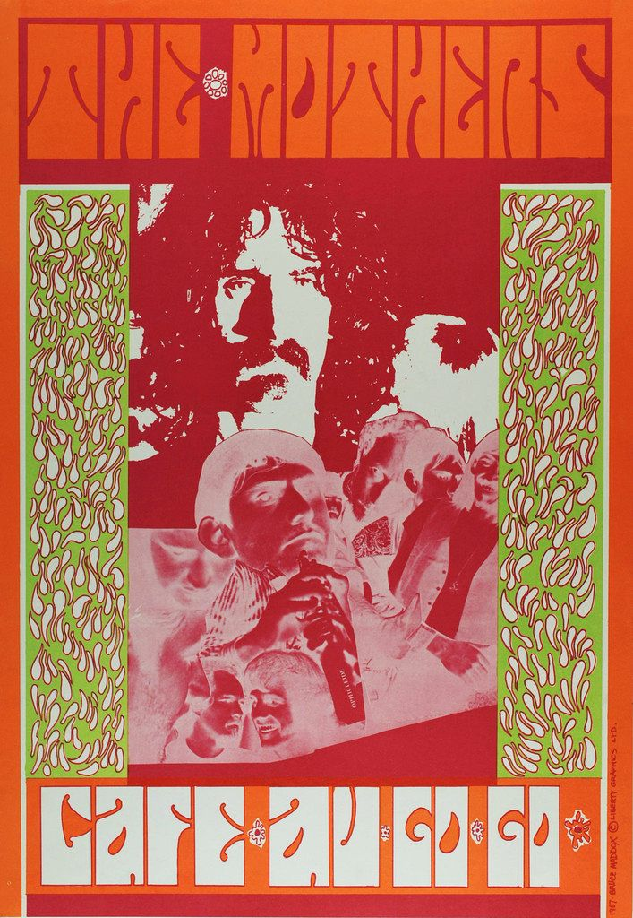 Psychedelic Poster Power Art Artists Psychedelic Graphics Of the 1960s Part 2