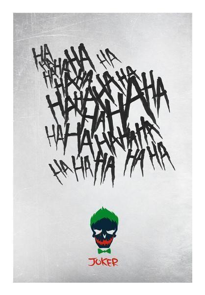 postergully specials suicide squad joker laugh ha ha ha wall art artist