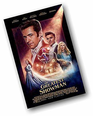 the greatest showman poster movie promo 11 x 17 hugh jackman faces