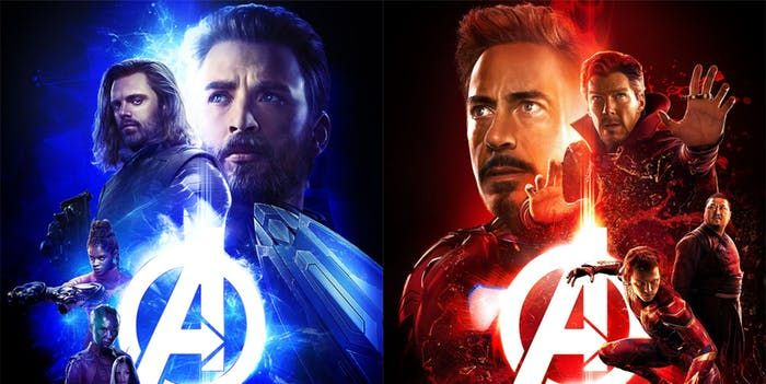 5 new infinity war posters reveal the new avengers team ups