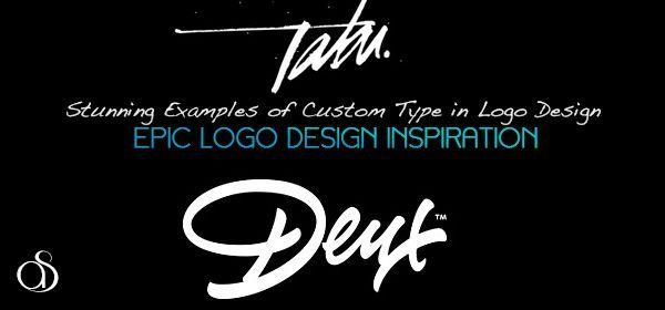 epic logo stunning examples custom typeface typography logo design inspiration
